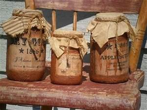 Primitive Mason Jar Craft Ideas Mason Jars