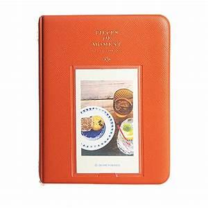 Album Photo Pour Polaroid : album photo photographie image 64pochettes pour polaroid fuji film instax mini film orange in ~ Teatrodelosmanantiales.com Idées de Décoration