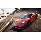 Wallpaper Need For Speed Rivals Ferrari F40 4K 8K