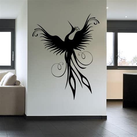 Phoenix Bird Wall Decal Wall Art Stickers Transfers Ebay