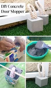 Was Ist Beton : diy beton t rstopper mit kordel dieses diy ist ganz einfach und das bekommt jeder hin beton ~ Frokenaadalensverden.com Haus und Dekorationen