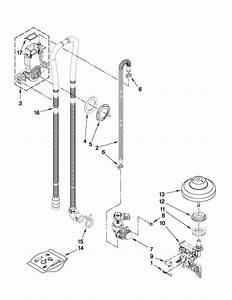Kitchenaid Model Kuds30fxss4 Dishwasher Genuine Parts