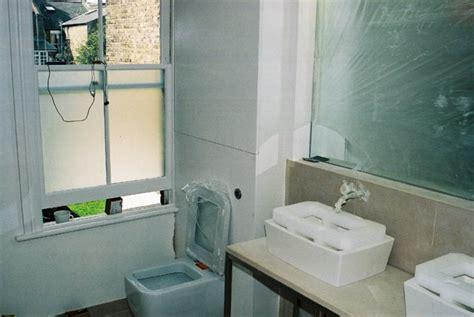 contemporary minimalist bathroom design installation