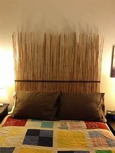Tete De Lit Bambou : 17 meilleures id es propos de t tes de lit fabriquer soi m me sur pinterest t tes de lit ~ Teatrodelosmanantiales.com Idées de Décoration