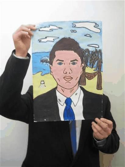 Self Portraits Pop Portrait Drawing Artwork Student
