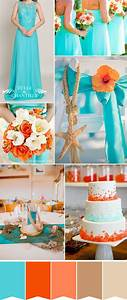 Fabulous Summer Beach Wedding Colors With Matched ...