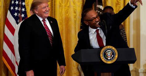 trump celebrates criminal justice reform law  white
