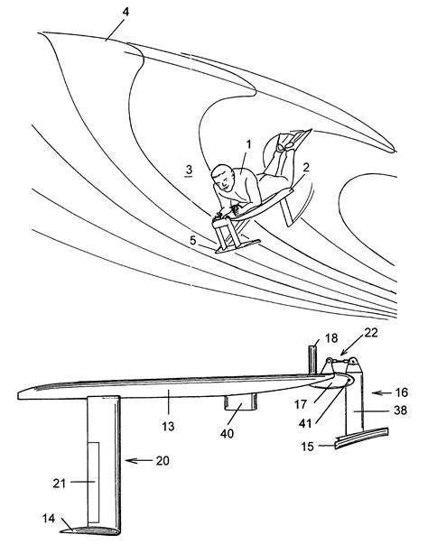 Hydrofoil Boat Pdf by Patent Us7144285 Hydrofoil Surfing Board