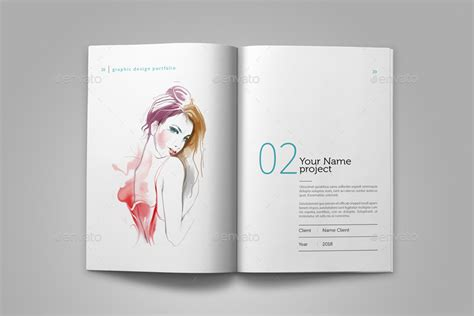 graphic design portfolio template  adekfotografia