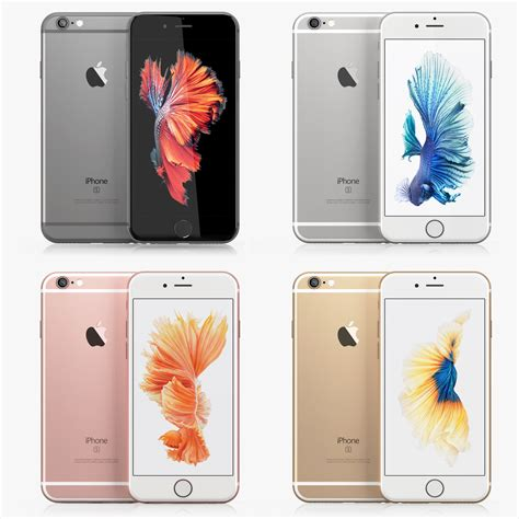iphone 6s colors iphone 6s colors 3d c4d