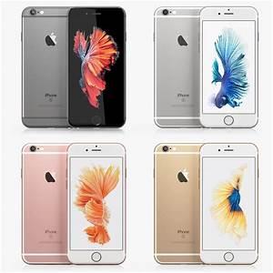 iphone 6s colors 3d c4d