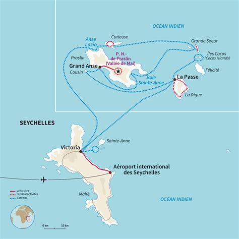 Carte Du Monde Avec Les Seychelles by Voyage Seychelles Randonn 233 E Seychelles Avec Nomade Aventure