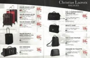 Baignoir Bébé Carrefour by Offre Vignettes Bagages Sac Christian Lacroix Carrefour 2017