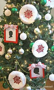 coffee filter christmas crafts