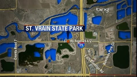 campers  st vrain state park evacuated  river rises