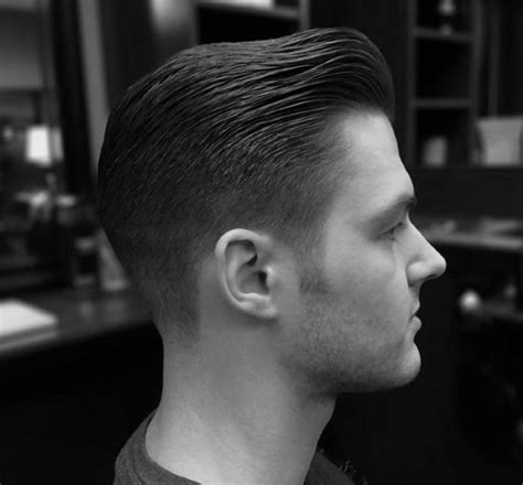 comb  fade haircut  men  masculine hairstyles