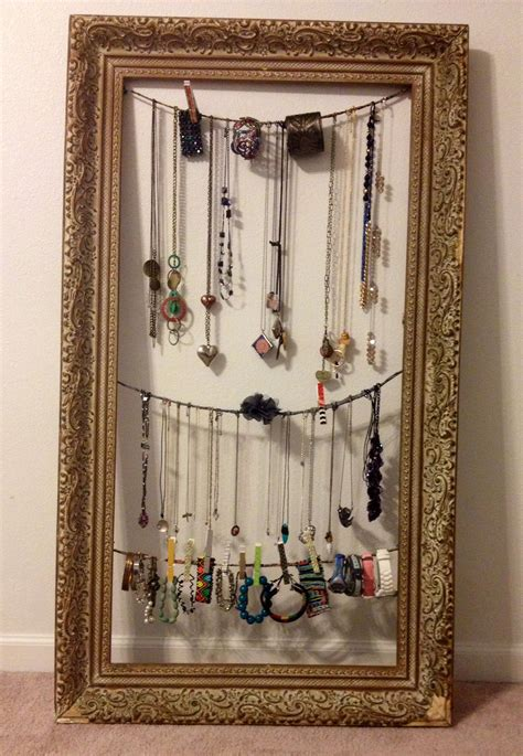 After, unique jewelry display!