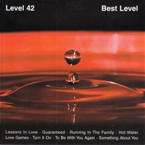 Level 42 - Best Level (CD) at Discogs