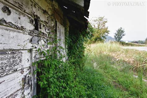 abandoned building bryson city north carolina