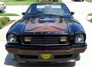 Black 1978 Ford Mustang II King Cobra Hatchback - MustangAttitude.com Photo Detail