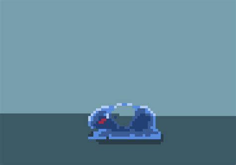 animated pixel slime  rvros