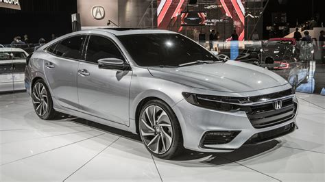 2019 Honda Insight Prototype Detroit 2018 Photo Gallery