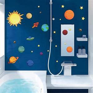 20 photos solar system wall art wall art ideas With educational solar system wall decals