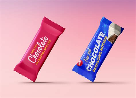 Free chocolate wrapper packaging psd mockup. 20 Candy Chocolate Bar Mockup Templates Free & Premium ...