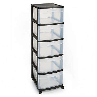 sterilite  drawer plastic storage cart  big lots