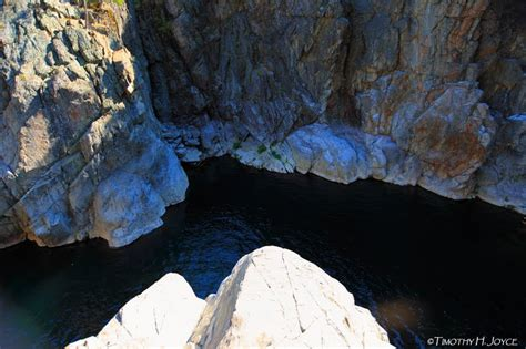swimming holes  california emerald pools cliffs hsg