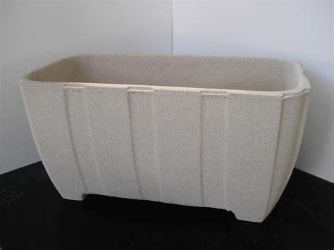 vasi in graniglia vaso fioriera rettangolare in cemento torino 81x40 h42