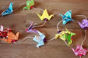 Guirlande Origami Things To Do Pinterest