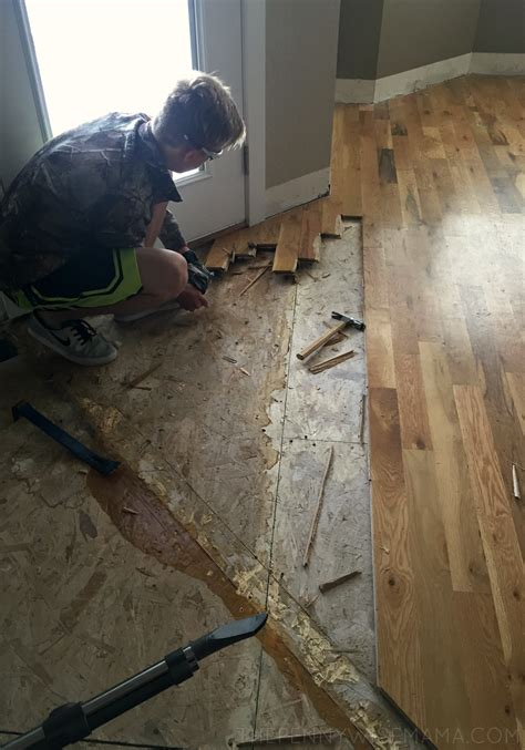 diy select surfaces laminate flooring  big reveal