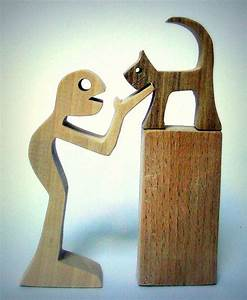 Dicke Holzbalken Sägen : h he human 12cm cat 6cm base 8cm dicke 2cm der charakter ist in ahorn nussbaum buche ~ Yasmunasinghe.com Haus und Dekorationen