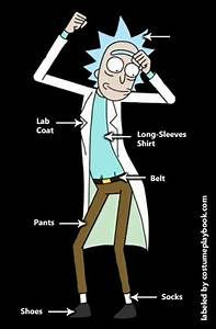 Rick and Morty Costumes Costume Playbook - Cosplay