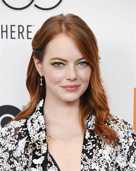 Emma Stone Debuts Chic New Lob Haircut For Fall Stylecaster