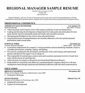 other popular resume examples in manager resume format With regional sales manager resume template