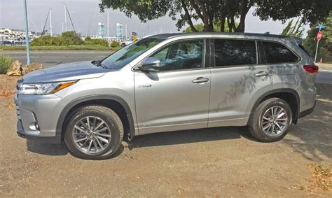 toyota highlander hybrid xle awd  affordable  row
