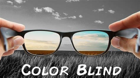 glasses color blind why would the glasses do that the color blind