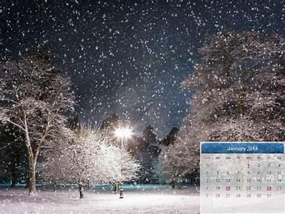 Winter Wallpapers January Calendar Snow Desktop Backgrounds