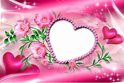 Frame Diamond Frames Romantic Heart Transparent Birthday