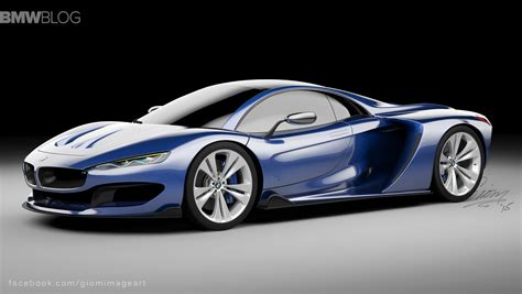 Bmw Supercar by Rendering Bmw Hypercar To Compete With Mclaren P1 And