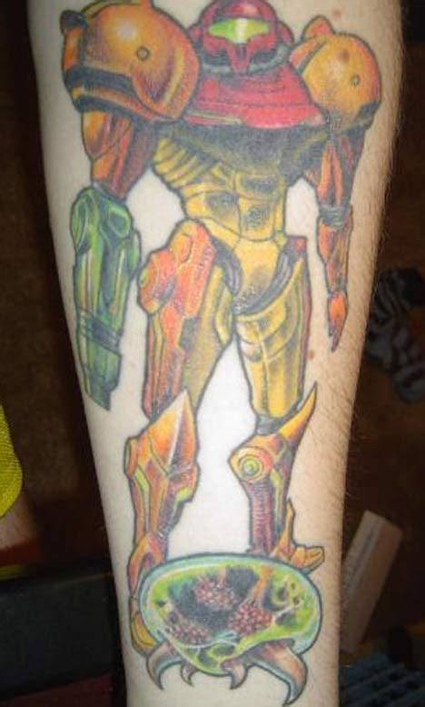 Cool Video Game Character Tattoos ~ Crazy Pics