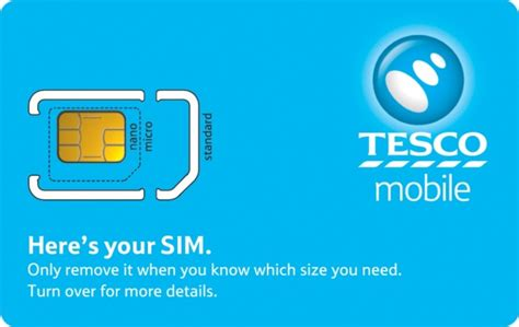 tesco mobile sim understanding sim cards replacement sims tesco mobile