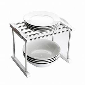 etagere extensible de rangement pour interieur achat With etagere pour placard cuisine