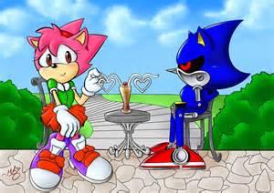 Metal Sonic X Amy