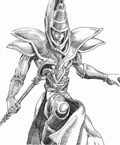 Magician Dark Yugioh Drew Recently Piece Fan