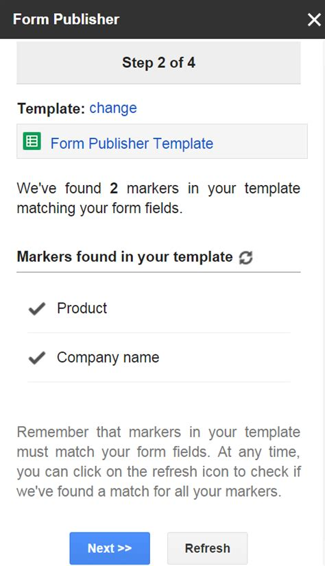 form publisher google apps script examples