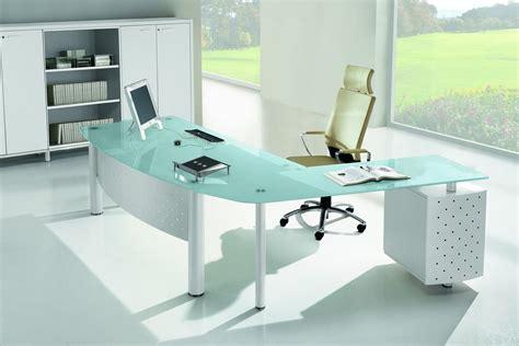 d馗o bureau professionnel x work 02 bureau professionnel avec retour secrétaire et caisson en métal et laminé plateau en verre disponible en différentes