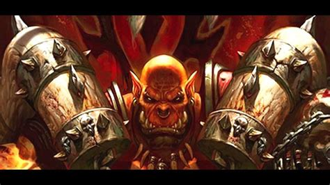 World Of Warcraft Images The Story Of Garrosh Hellscream Lore Youtube